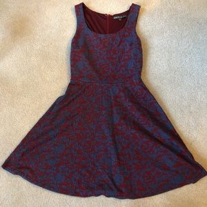 Super cute blue and red Stitch Fix Dress